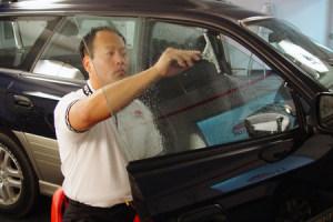 UV sugárzás védő autófólia